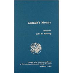 Canada's Money COAC Volume