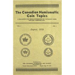 Canadian Numismatic Coin Topics