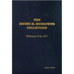 Hardcover Irving M. Moskovitz Collection Sale