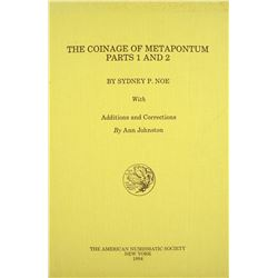 The Coinage of Metapontum