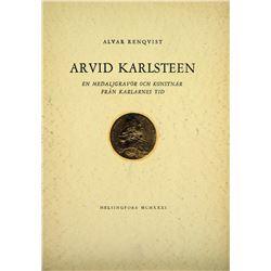 Study of Medallist Arvid Karlsteen