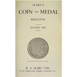 1955 Seaby's Coin & Medal Bulletin