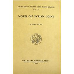 Seyrig on Syrian Coins