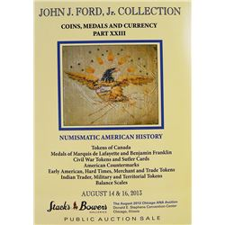 John J. Ford Collection, Part XXIII
