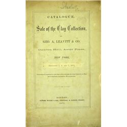 The 1871 Clay Sale