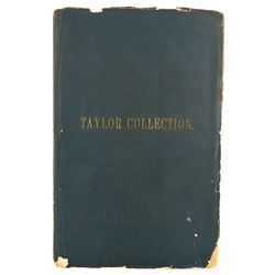 The 1875 Taylor Sale