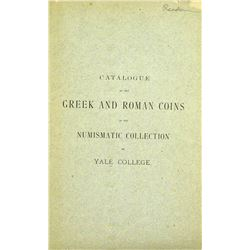 1880 Catalogue of Ancient Coins at Yale
