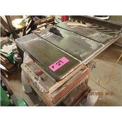 10'' modern table saw  cast top