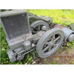 Wittie 12.2 hp diesel w/ 7.7 kw genset