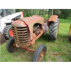 44 massey  tractor project