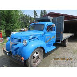 1943 Dodge blue 2 ton truck