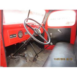 1939 Fargo red Truck  2 ton