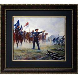 Mort Kunstler Civil War Framd Print Buford-Devil to Pay