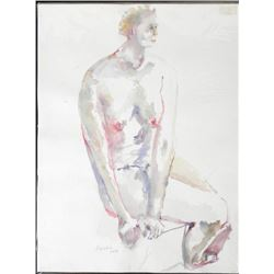 Betty Snyder Rees Original Painting Saturday Nudes #33