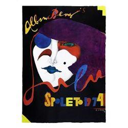 Richard Lindner Art Print Spoleto 1974