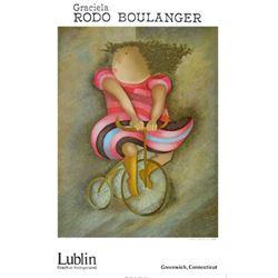 Graciela Rodo Boulanger Tricycle Lithograph Art Print