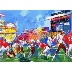 IN THE POCKET Williams Redskins Neiman LE Art Print