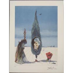 Salvador Dali : Enigma of the Rose Art Print
