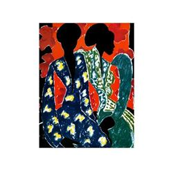 James Denmark Two Women Signed Giclee