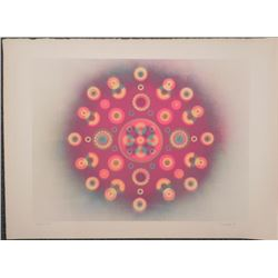 Tom Norton Signed Artist Proof Print Op Art -1969
