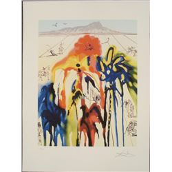 Salvador Dali : Diamond Head A Surrealistic Art Print