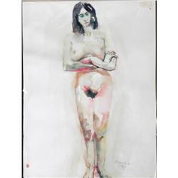Betty Snyder Rees Original Painting Saturday Nudes #28