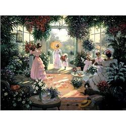 Christa Kieffer - Tea in the Conservatory
