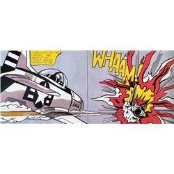 Roy Lichtenstein : Whaam (diptych) 1963