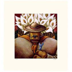 Markus Pierson 'COYOTE PORTRAIT OF RIVERA' Paper