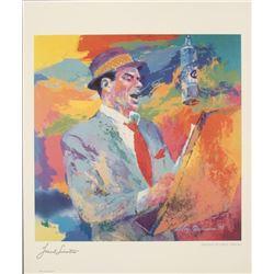 Leroy Neiman : Frank Sinatra Art Print
