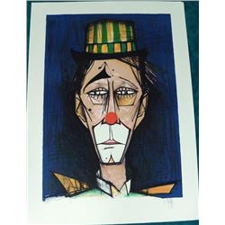 V. Beffa Clown Signed and Numbered Lithograph