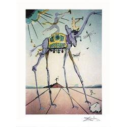 Salvador Dali Celestial Elephant Art Print
