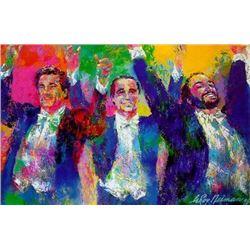 Three Tenors Signed Limited Edition Neiman Art Print