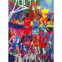 LeRoy NEIMAN Signed Michael Jordan Orlando Art Print