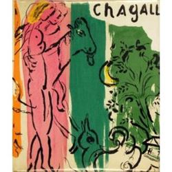 1957 Signed Marc Chagall Book Jacques Lassaigne Maeght