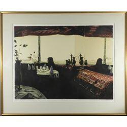 Harry McCormick Signed Art Print Woman, Nirvana Framed