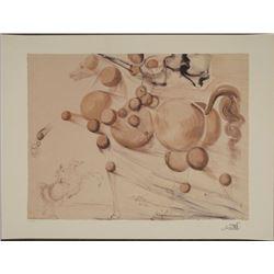 Salvador Dali : Transparent Horse Art Print