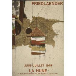 Johnny Friedlaender : La Hune Ship Art Print