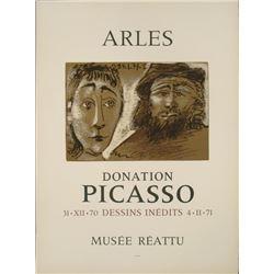 Pablo Picasso : Arles Donation Museum Exhibition Print