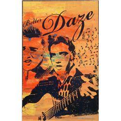 Elvis Presley Better Daze Signed Giclee Bobby Hill