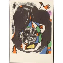 Joan Miro Revolution I Abstract Art Print