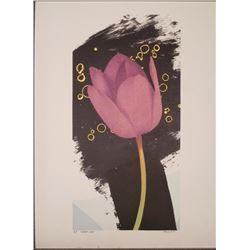 Michael Knigin Signed Artist Proof Flower Perfect Lass
