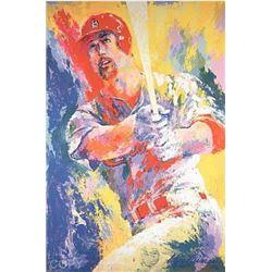 Neiman Mark McGwire DOUBLE SIGNED LE Sports Art Print