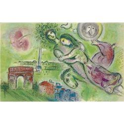 Marc Chagall Art Print Romeo and Juliet -Mourlot