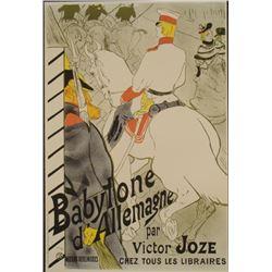 Henri de Toulouse-Lautrec : Babylone d'Allemagne Print
