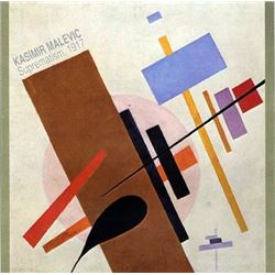 Kasimir Malevich Supermatsim, 1917 Art Print
