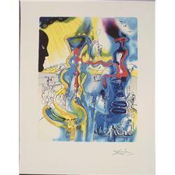 Salvador Dali : The Chemist Surrealistic Art Print