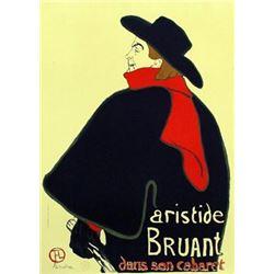 Henri de Toulouse-Lautrec Aristide Bruant Lithograph