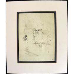 After Hours Print Henri de Toulouse Lautrec Print