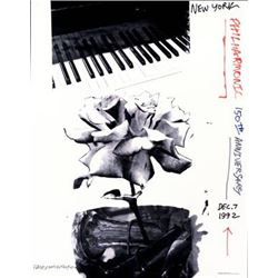 Robert Rauschenberg Art Print New York Philharmonic 150
